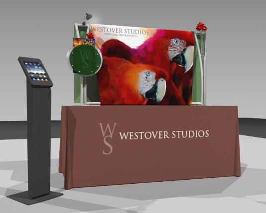 tabletop exhibit displays ma, full-scale custom modular displays ma, Westwood trade show booth, exhibits ma, trade show booth ma